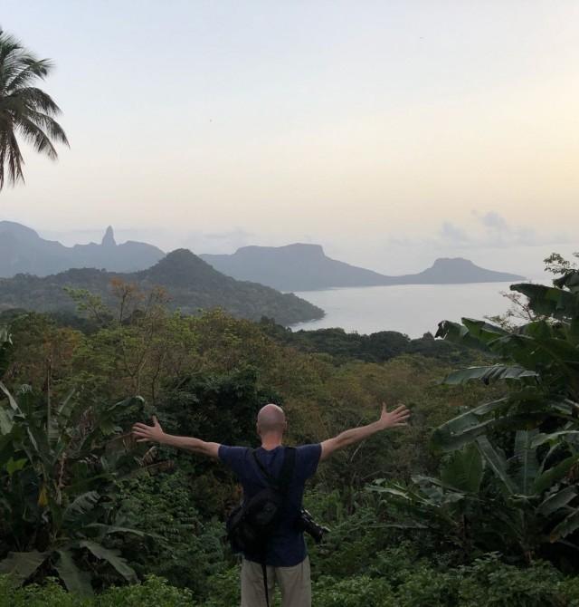 Mirador Oké Daniel en Santo Tomé y Príncipe