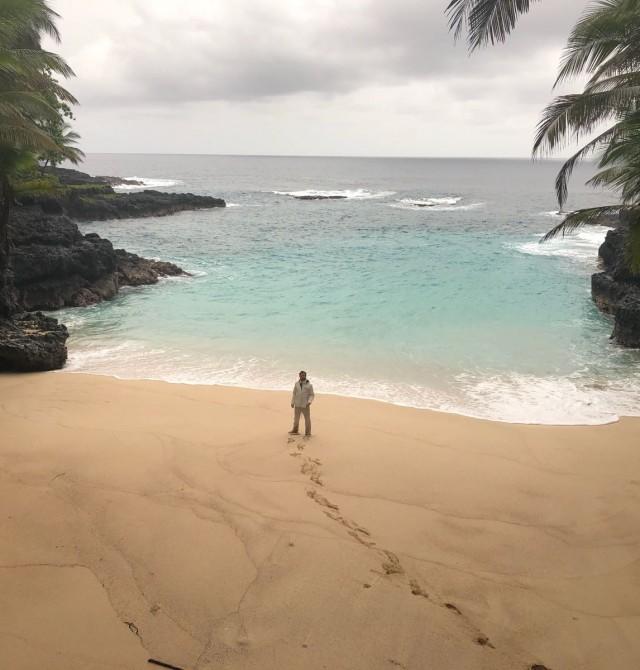 Praia Bateria en Santo Tomé y Príncipe