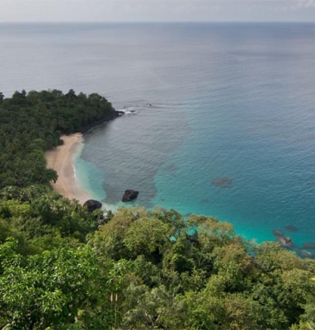 Praia Banana en Santo Tomé y Príncipe