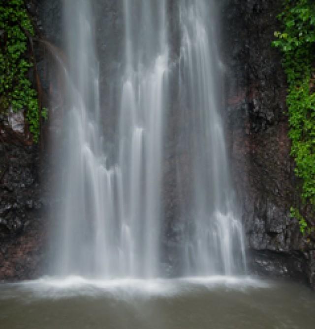 Cascada Sao Nicolau en Santo Tomé y Príncipe