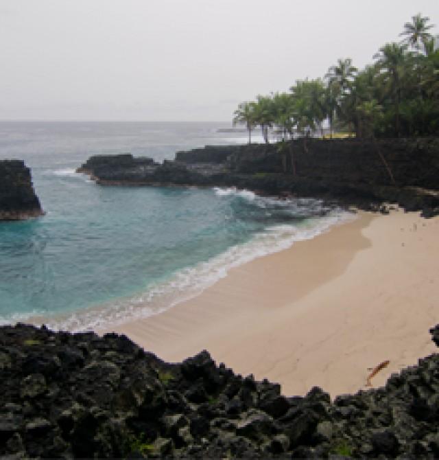 Isla de Rolas en Santo Tomé y Príncipe