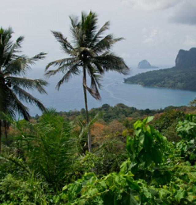 Isla de Príncipe en Santo Tomé y Príncipe