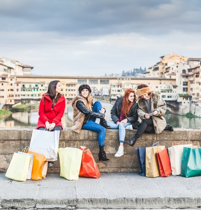 Shopping florentino en FLORENCIA, ITALIA