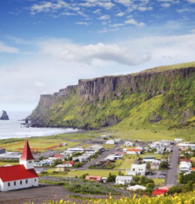 Costa Sur en Islandia