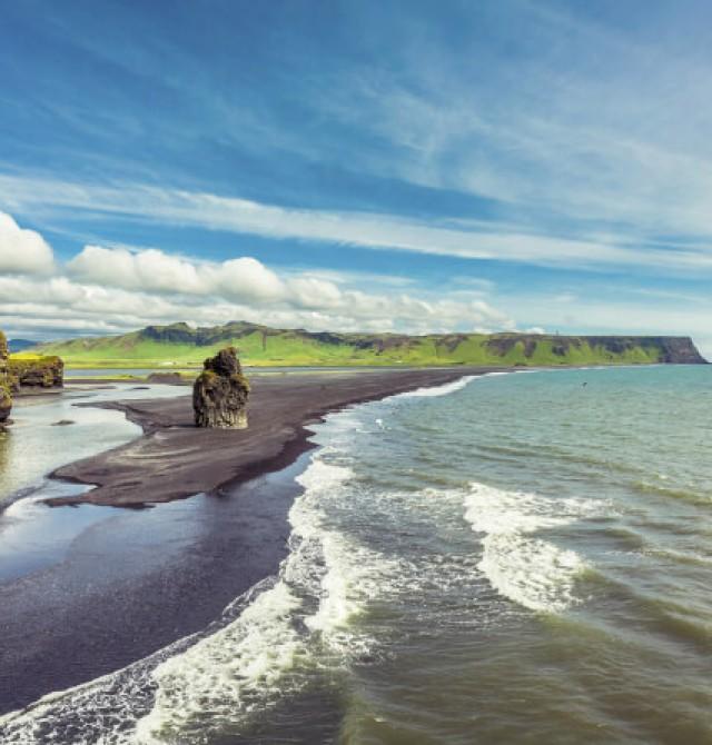 Playas de Vik en Islandia