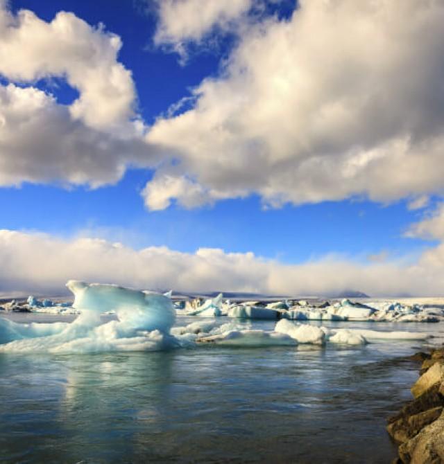 Laguna de Jokulsarlon en Islandia