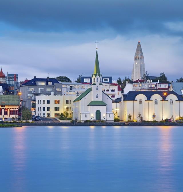 Reykjavik en Islandia