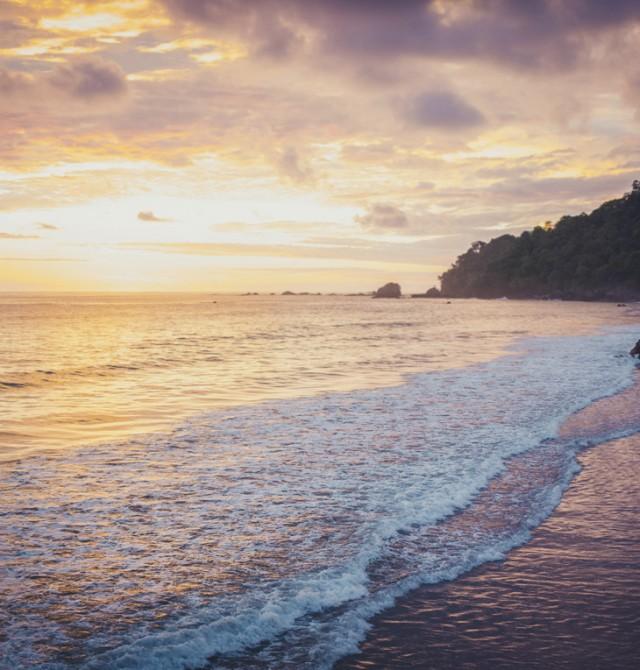 Un chapuzón Pacífico