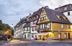 Tradición en Colmar en Francia