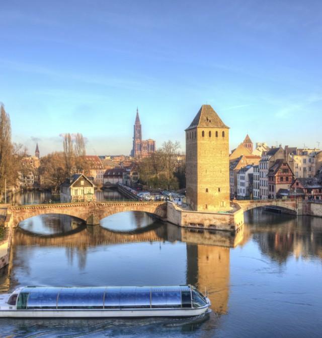 Puentes Cubiertos de Estrasburgo