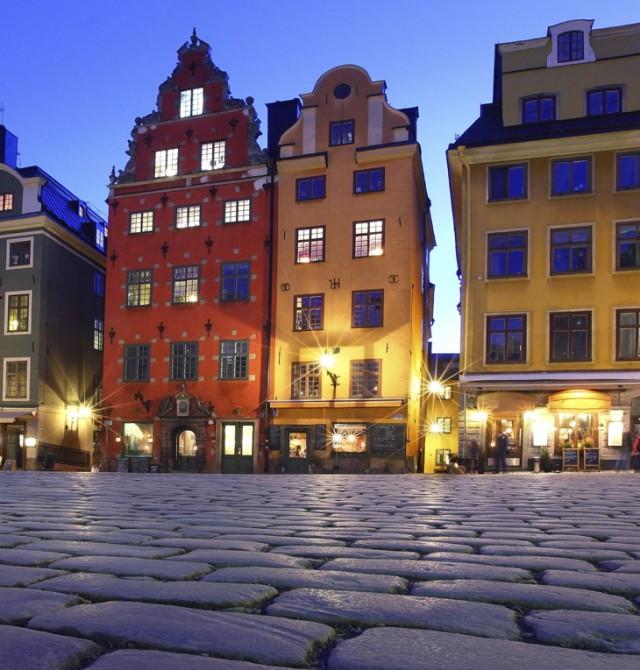 La vieja capital en Suecia - Finlandia - Noruega