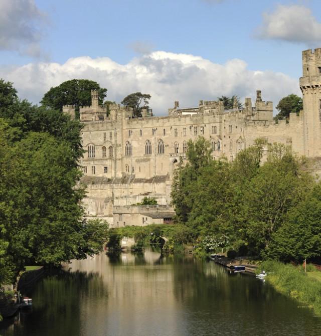 Castillo de Warwick en Reino Unido