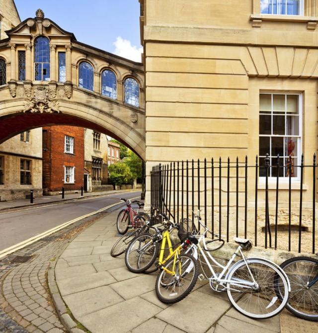 Puente de los Suspiros de Oxford en Reino Unido