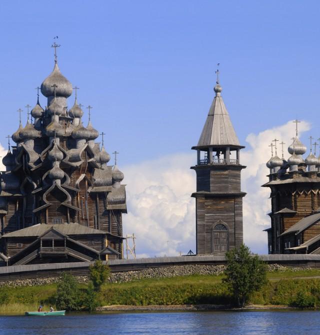 Kizhi en Rusia