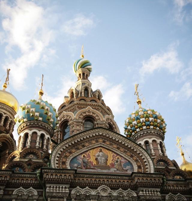 Iglesia del Salvador sobre la sangre derramada en Rusia