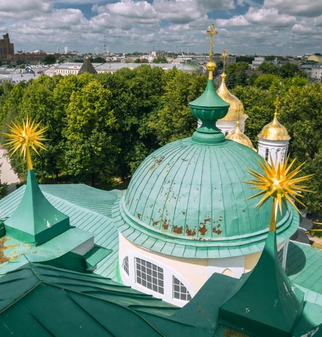Barroquismo religioso en Rusia