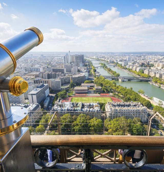París a 300 metros de altura en Francia