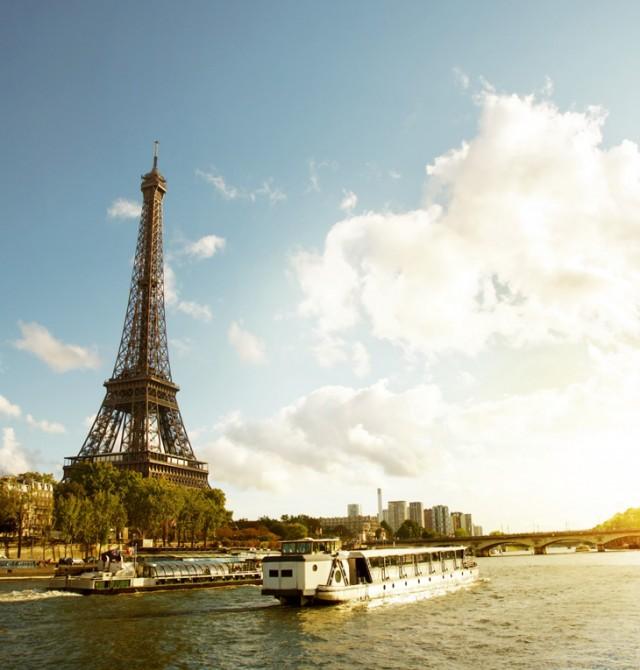 A orillas del Sena en Francia