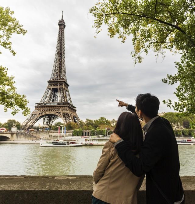 La Torre Eiffel desde Trocadero