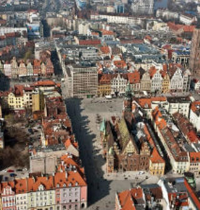 Wroclaw en Polonia