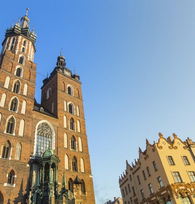 Basílica de Santa María de Cracovia en Polonia