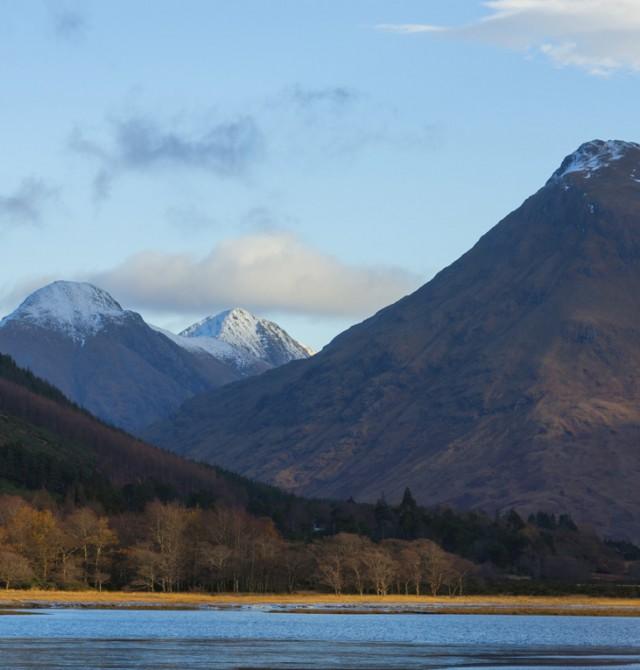 En la cima del mundo en Escocia