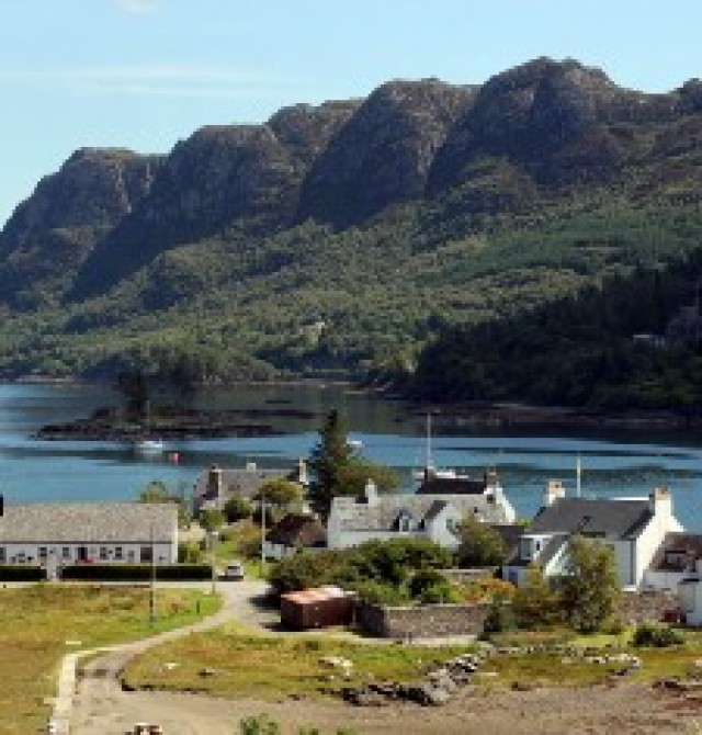 Isla de Skye Sur en Escocia