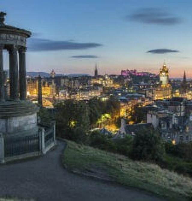 Edimburgo - España en Escocia