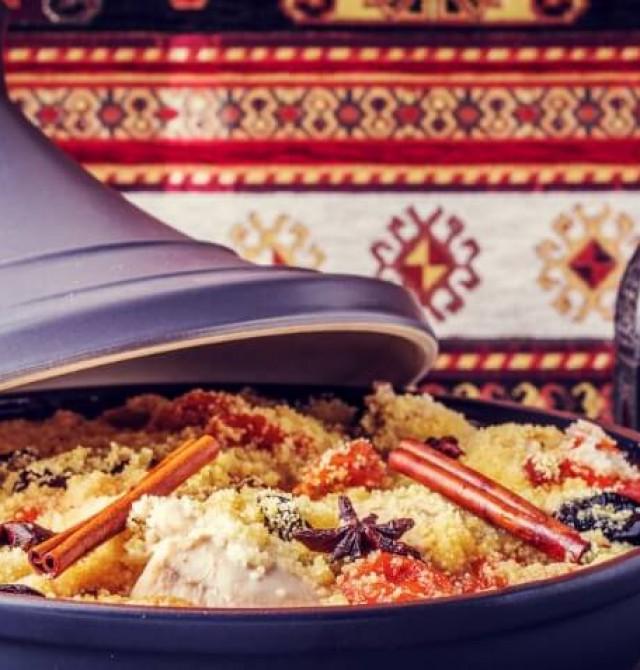 Cocina tradicional marroquí en Marruecos