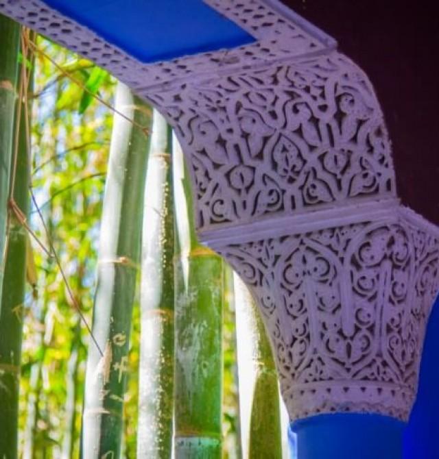 Jardines Majorelle en Marruecos