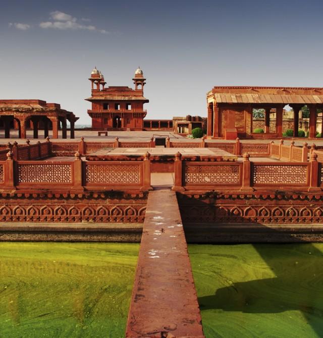 Agra en India