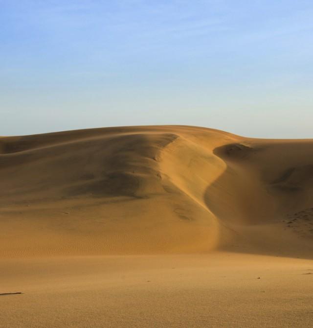 Mar de arena en Senegal