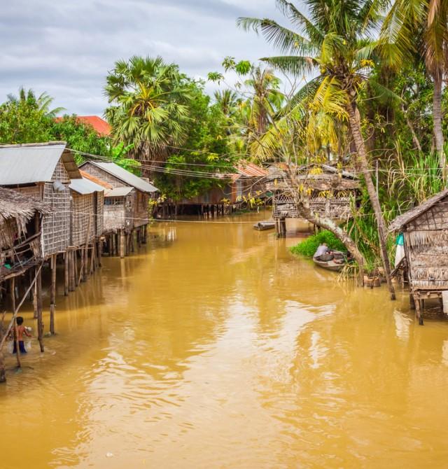 Río Stung Sangke en Camboya