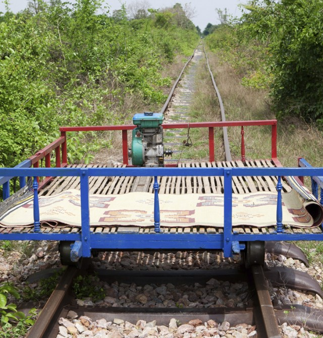 Tren de bambú