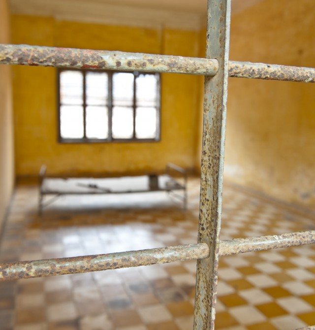 Museo Tuol Sleng en Camboya
