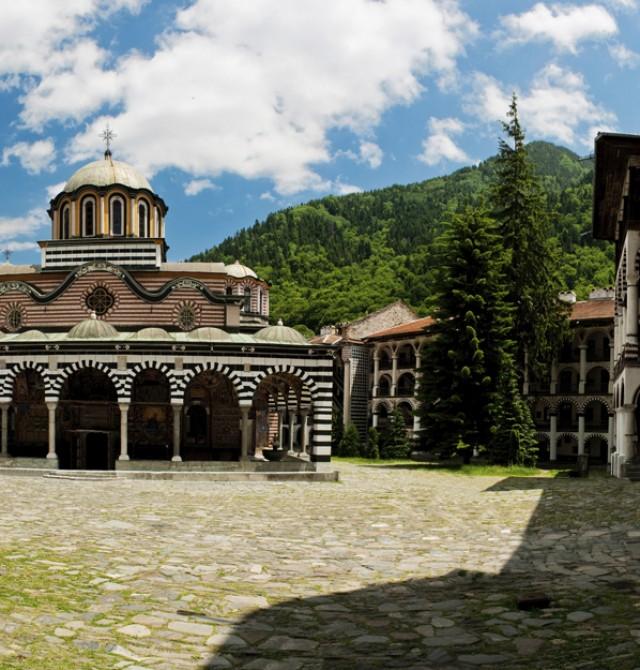 rila-monastery en Bulgaria