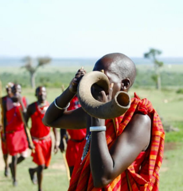 Masai Mara en Kenia y Maldivas