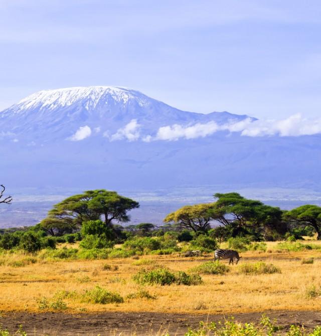 Poderoso Kilimanjaro en Kenia