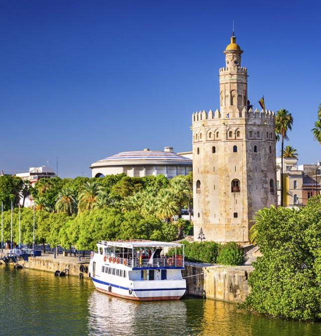 Desde el agua en Sevilla
