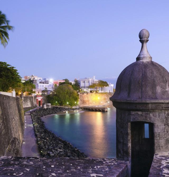 Por el Viejo San Juan en Puerto Rico