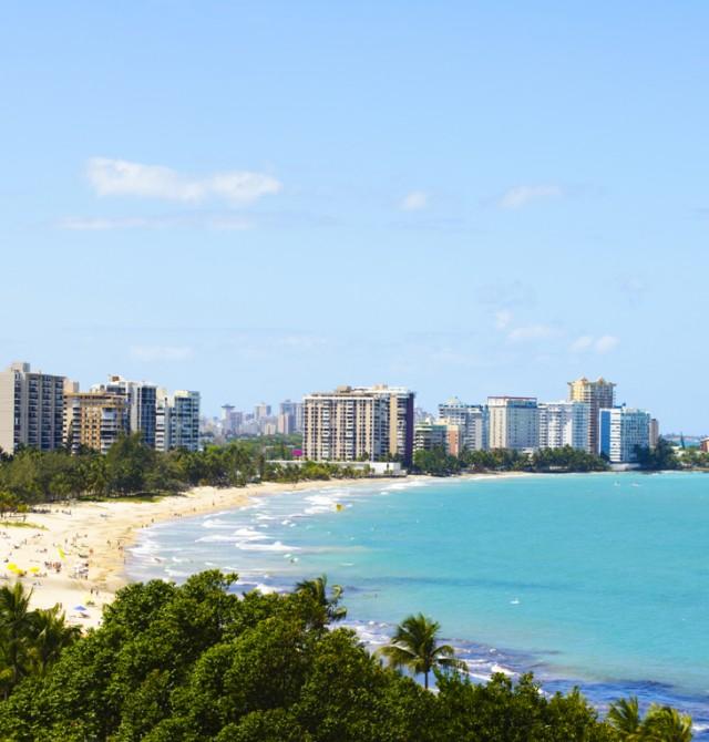 Las playas de San Juan en Puerto Rico