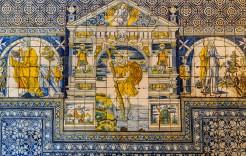 Detalle de la Basílica en Toledo, Talavera de la Reina