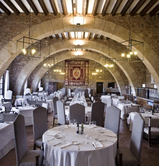 Restaurante del Parador de Sigüenza