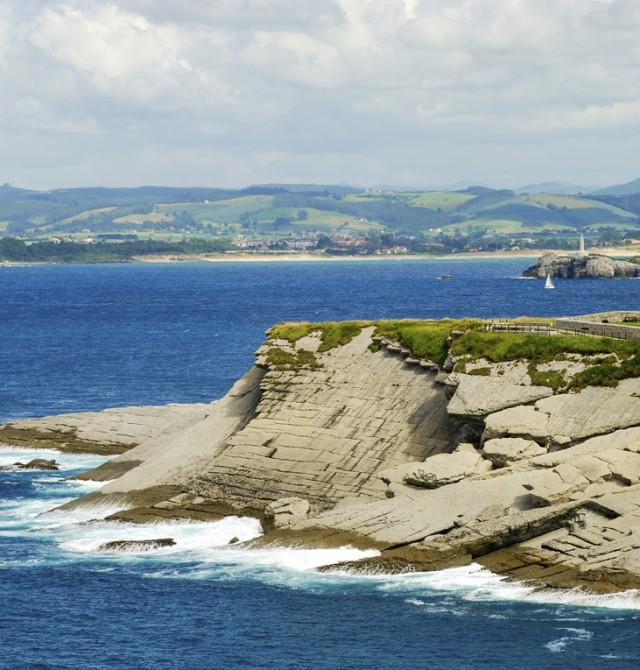 La costa cántabra