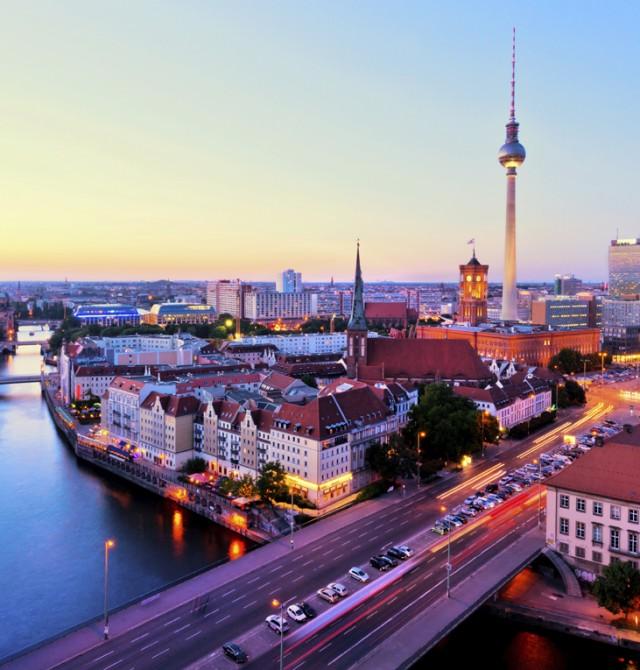 Skyline berlinés en Alemania