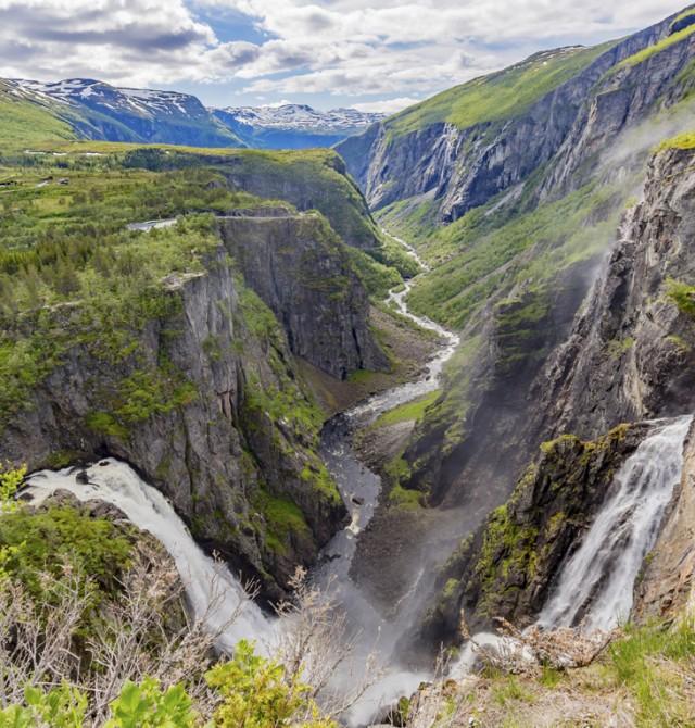 Cataratas en Noruega