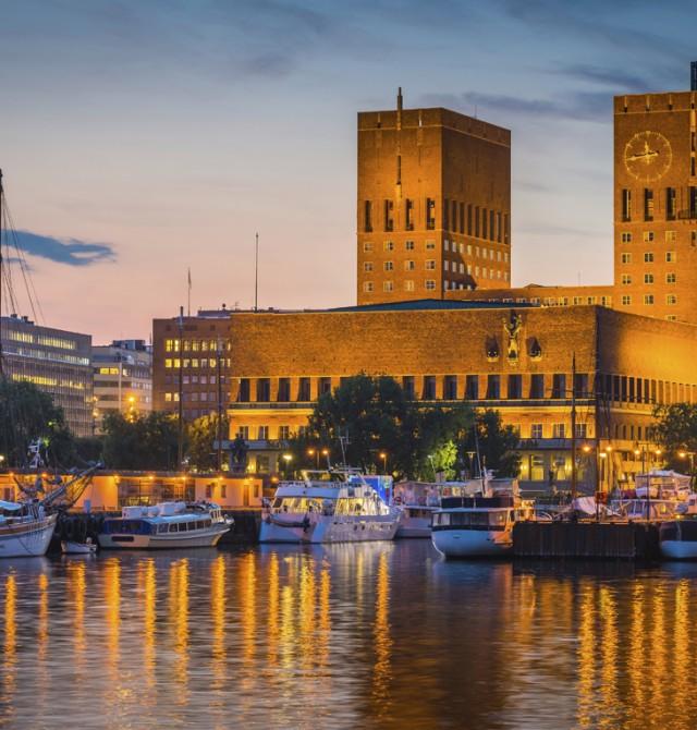Oslo y sus gentes en Noruega