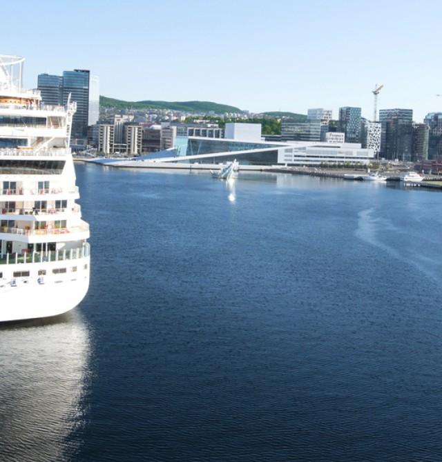 Crucero por el Mar del Norte a Copenhague