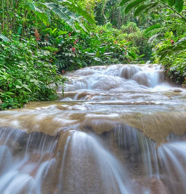 Cascada en Jamaica