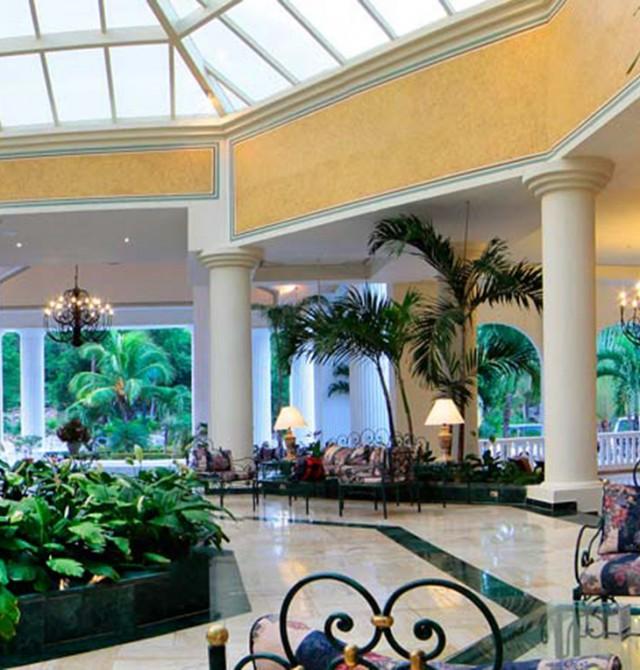 Lobby en Jamaica